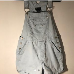 Jean shorts romper